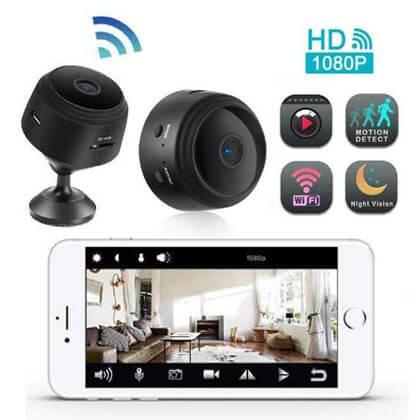 Ασύρματη κάμερα Wifi νυχτερινής όρασης MINI